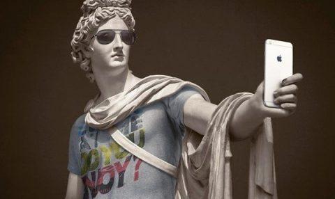 Klasik heykeller hipster olursa