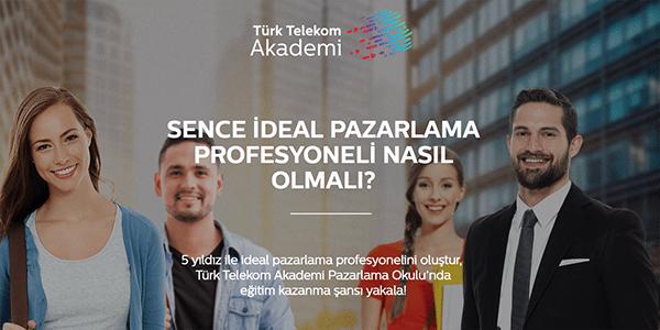 Pazarlama Okulu, Türk Telekom Akademi ile gençlere açılıyor