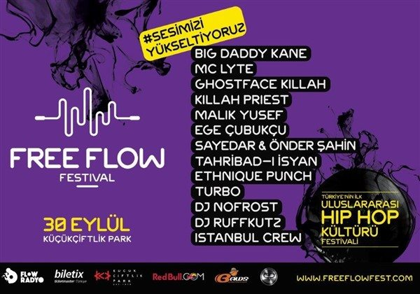 Free Flow Festival 30 Eylül'de İstanbul'da
