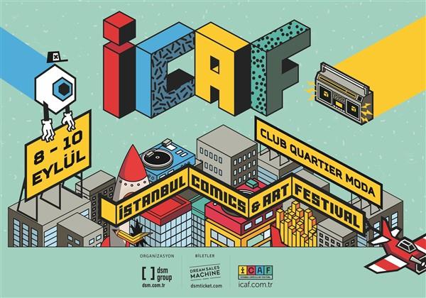 İstanbul Comics & Art Festival dopdolu bir programla geliyor