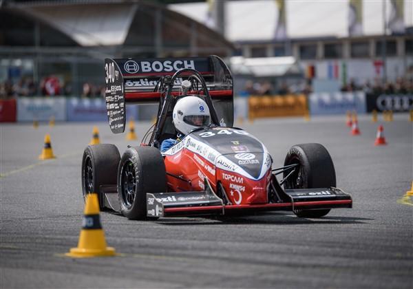YTÜ Racing ekibi Formula Student'ta göz doldurdu