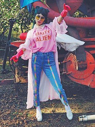 She is a legal alien