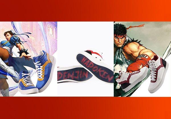 Diesel'den Street Fighter temalı ayakkabılar