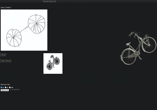Adobe ProjectQuick 3D çizimlerinizi 3 boyutlu objelere çeviriyor