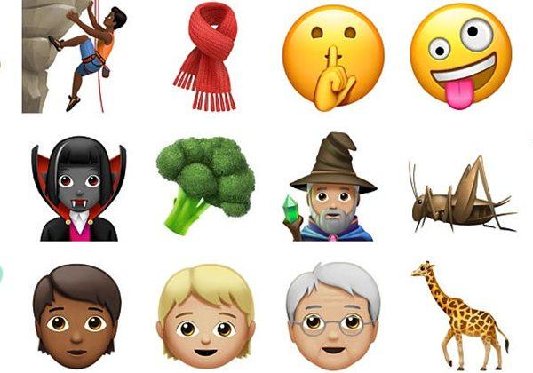 Apple, yeni emojilerini piyasaya sunuyor
