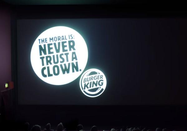 Burger King reklamında başrol McDonald's'ın