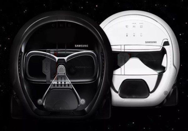 Samsung'dan Darth Vader şeklinde süpürge