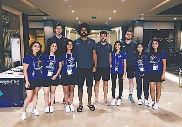 Eurobasket 2017 gönüllülüğü