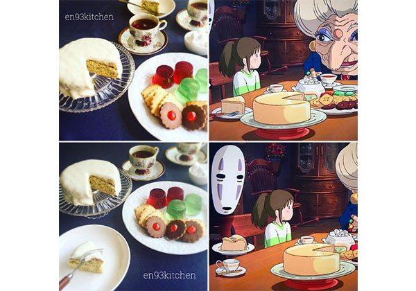 Ghibli'nin nefis yemekleri gerçek oluyor