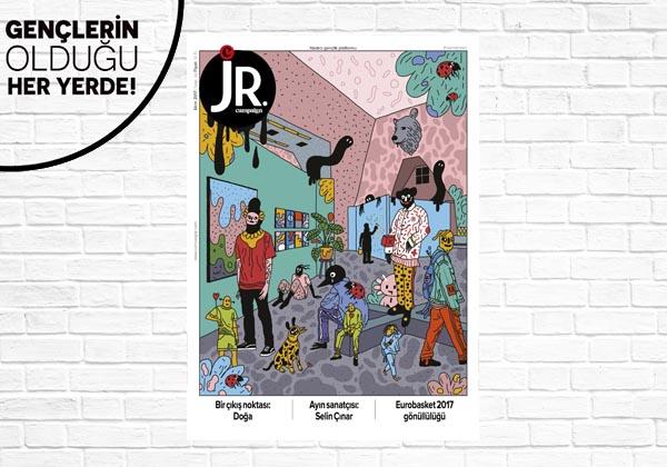 JR. Ekim 2017 sayısı çıktı!