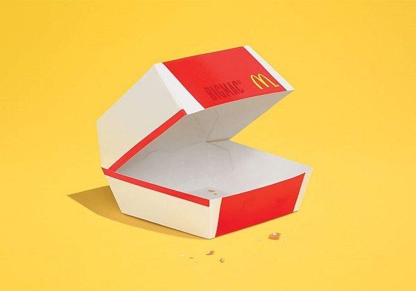 McDonald's'ın yeni reklamında yiyecekler yok edildi