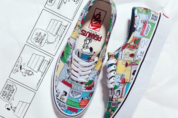 Snoopy çizgi romanı ve Vans bir araya geldi