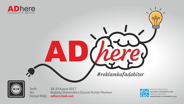 Adhere Reklamcılık Günleri 18-19 Kasım'da