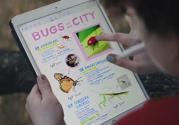 Apple'ın yeni reklamında iPad Pro laptop'lara karşı