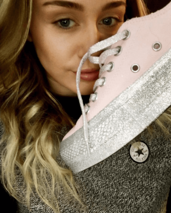 Miley Cyrus ve Converse iş birliği