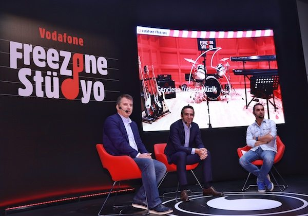 Vodafone FreeZone Stüdyo açılıyor