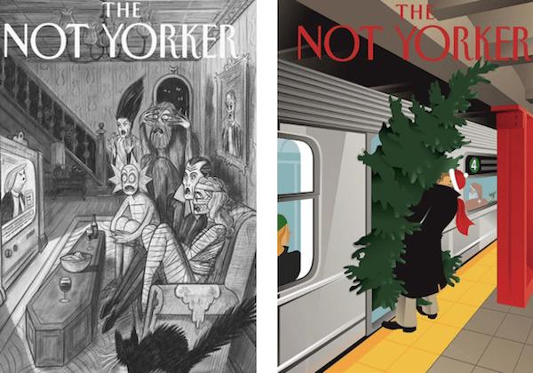 The New Yorker'a yeni alternatif: The Not Yorker