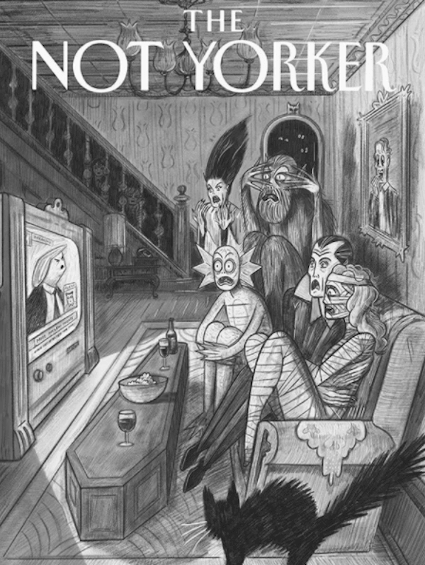 The New Yorker'a yeni alternatif: The Not Yorker
