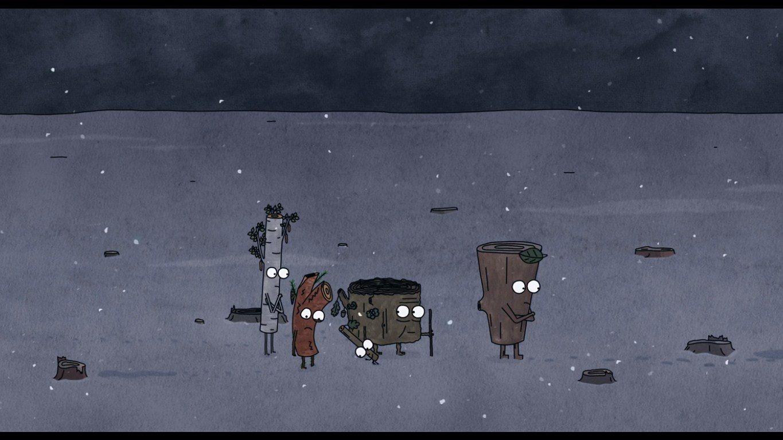 Korku filmine dönüşen animasyon