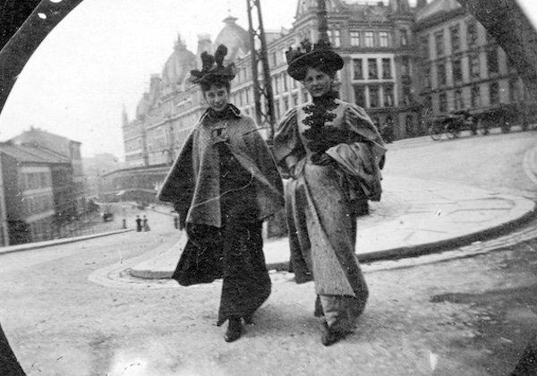 1890'lı yıllardan gizli kamera görüntüleri