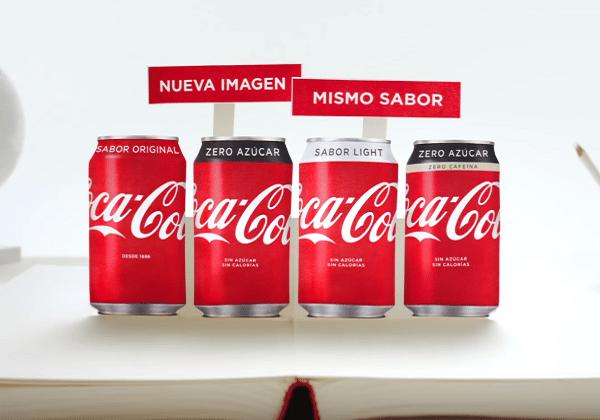 Coca-Cola tasarımını yeniledi