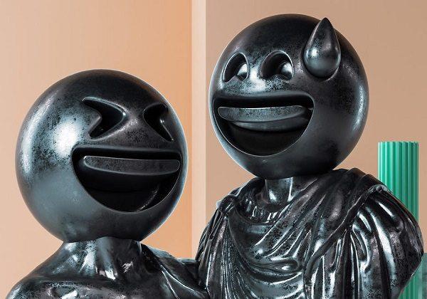 Emojiler klasik heykellere dönüşürse
