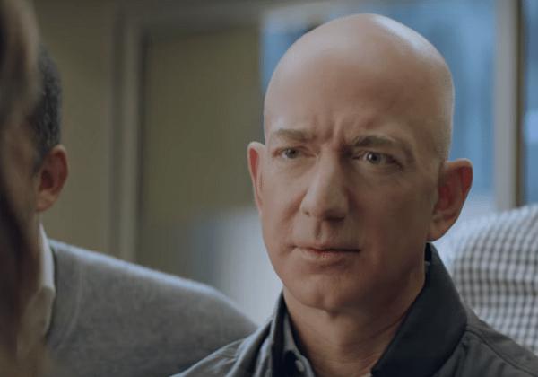 Jeff Bezos, Amazon'un reklamında rol aldı