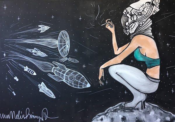 """Melis Binay """"We Need Space"""" sergisi ile geliyor"""