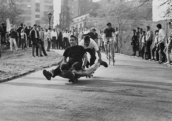 Kaykaycıların 60'lı yıllardaki fotoğrafları