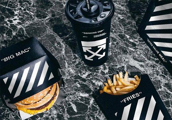 McDonald's tasarımına siyah beyaz dokunuş