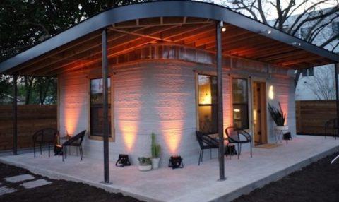 3D yazıcı ile 24 saatte inşa edilen evler