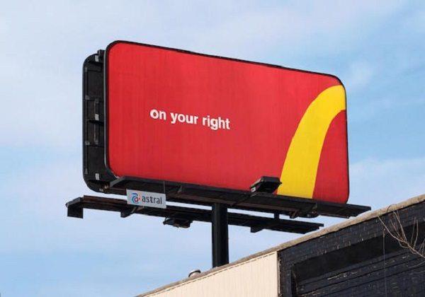McDonald's logosu parçalara ayrıldı