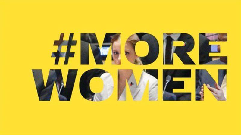 Kadınlar nerede?: #MoreWomen