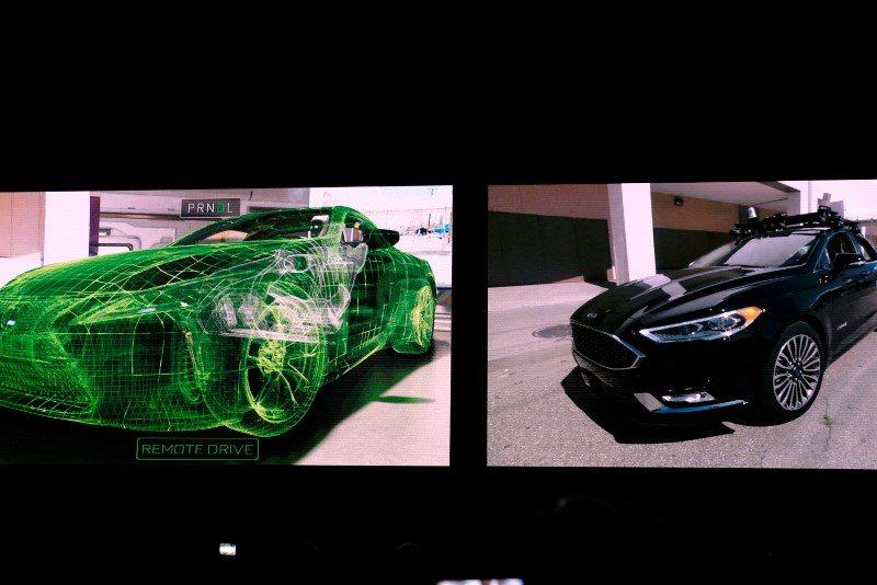 Nvidia sanal gerçeklik yoluyla otomobil sürdü
