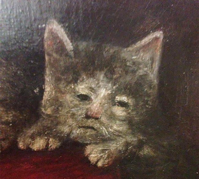 Orta Çağ'dan korkunç kedi resimleri