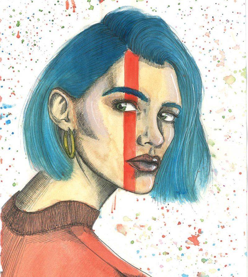 Ayın Jr. sanatçısı: Zehra Bilge Bircan