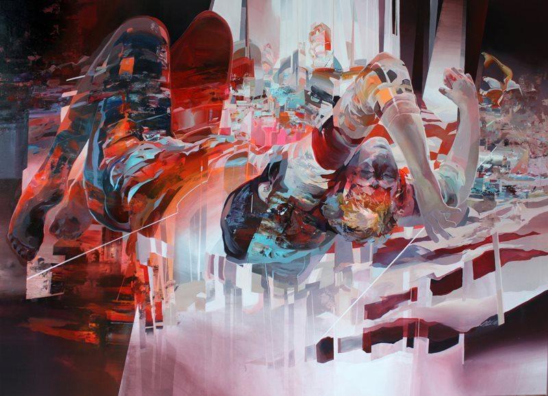 Fresk ve sokak sanatını bir araya getiren eserler