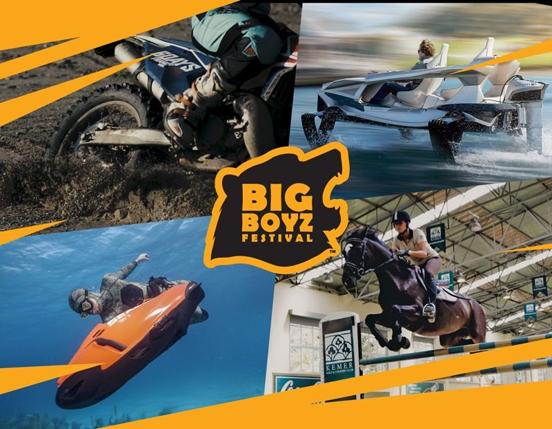 Big Boyz Festival, 'Büyüklere oyuncaklar' konseptiyle karşımızda