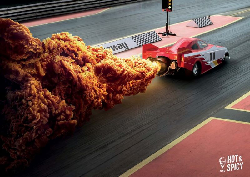KFC yeni kampanyasını tavuk ve patlamalar üzerine yaptı