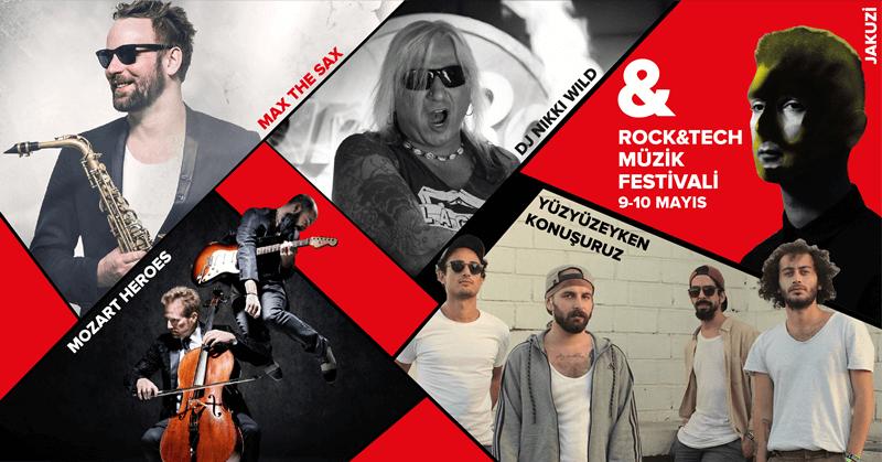 Rock&Tech Müzik Festivali farklı isimleri bir araya getiriyor
