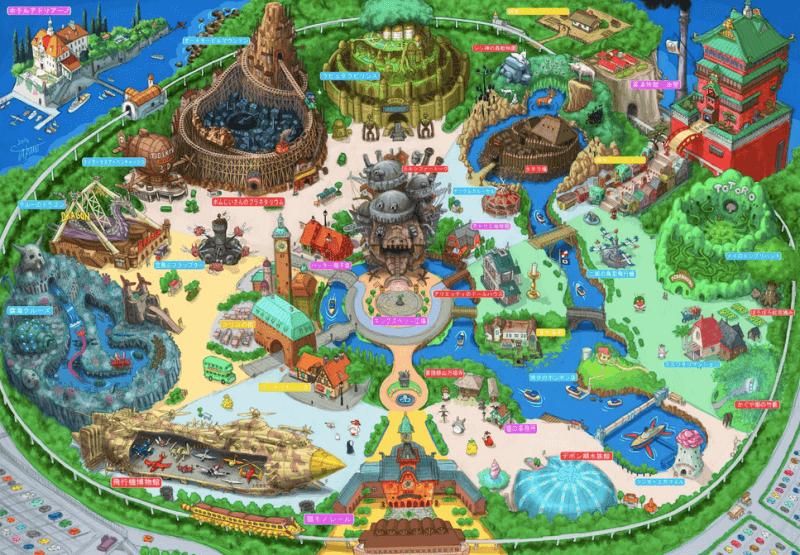 Studio Ghibli eğlence parkı açılıyor