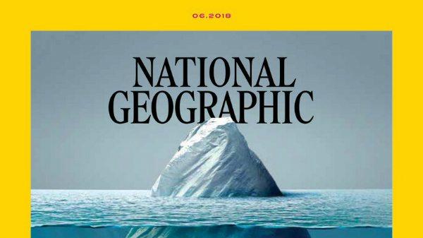 National Geographic yeni kapağıyla denizlerdeki plastik kirliliğini vurguluyor