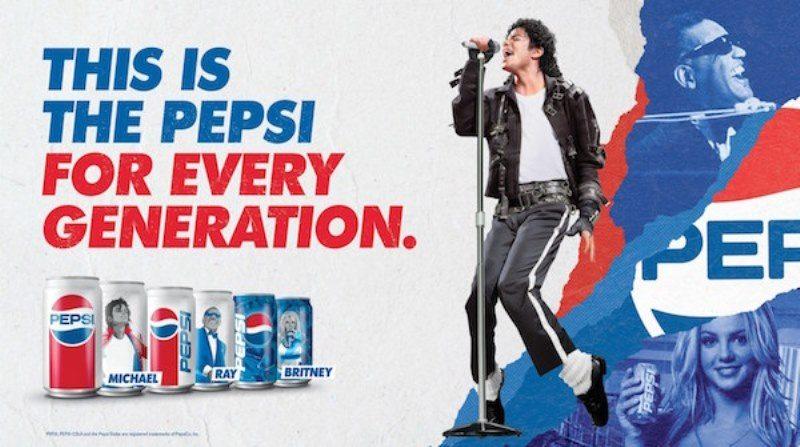 Pepsi'nin Generations kampanyasına Michael Jackson da ekleniyor