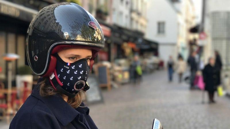 Günlük kullanıma uygun, şık R-PUR koruyucu maske