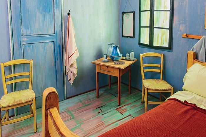Van Gogh'da yatıya kalmak ister misiniz?