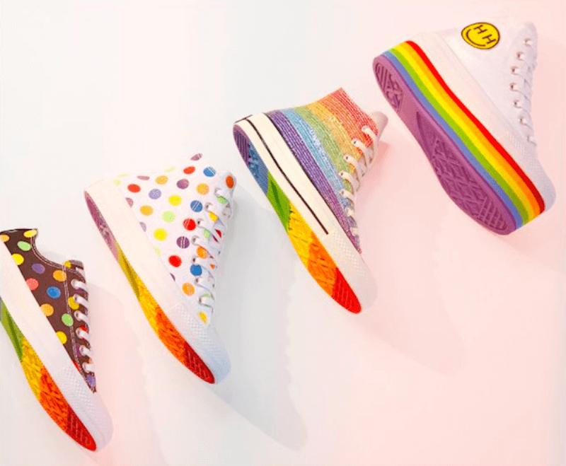 Miley Cyrus ve Converse 'Pride' koleksiyonunu gün yüzüne çıkardılar