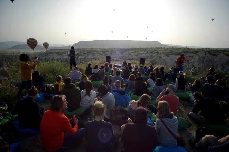"""4. Cappadox Festivali """"sessizlik"""" temasıyla başlıyor"""