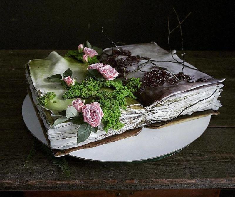 Rus pasta şefinden etkileyici pasta sanatı