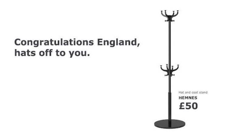 IKEA'dan İngiliz centilmenliği