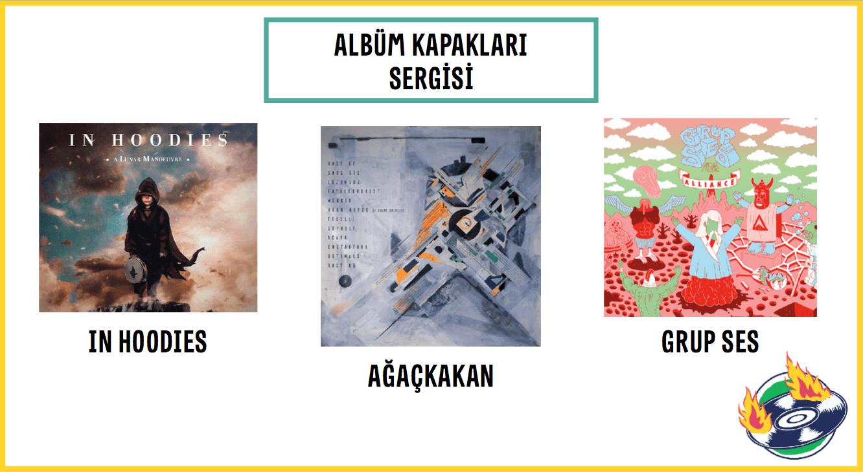 ICAF'da albüm kapakları sergisi